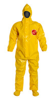 DuPont Tychem® 9000 Yellow Coverall - BR128T YL BOOT
