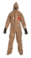 DuPont Tychem® Responder® CSM Tan Coverall - RC128T TN BOOT