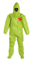 DuPont Tychem® 10000 Lime Yellow Coverall - TK128T LY
