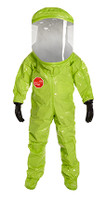 DuPont Tychem® 10000 Lime Yellow Coverall - TK555T LY 7M