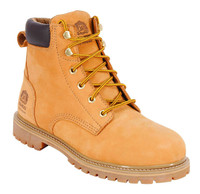 "King's Tan 6"" Steel Toe Classic Work Boot - KCWB04"