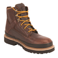 "King's Brown 6"" Steel Toe Welted Work Boot - KGEO02"