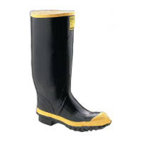 "Servus Hi-Pac 16"" Black Steel Toe Work Boot - 2144"