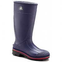 "Servus Northerner Navy / Red / Black 15"" PVC Plain-Toe Work Boot - 75126"