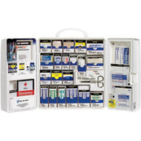 209-Piece Standard Business First Aid Kit w/o Medications (Plastic) - 1001FAE0103