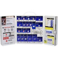 209-Piece Red Cross Standard Business First Aid Kit w/o Medications (Plastic) - 1001RC0103