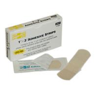 "Plastic Adhesive Strips, 1"" x 3"" (16/Box) - 1002"