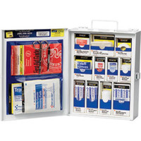 112-Piece Medium Business First Aid Kit (Metal) - 1050FAE0103