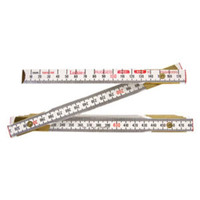 Lufkin® Scale Wood Rules Red End®, Engineer's Rule, (Millimeters/Feet) - 1066DM
