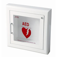 Life Start™ Series AED Semi-Recessed Wall Cabinet w/Siren - 1417F12