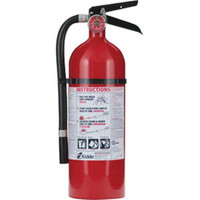 Kidde Pro 210 Consumer 4 lb ABC Fire Extinguisher w/ Wall Hook - 1005779K