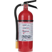 Kidde Pro 340 Consumer 5 lb ABC Fire Extinguisher w/ Wall Hook - 1005782K