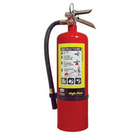 Badger™ Extra-High Flow 10 lb ABC Extinguisher w/ Wall Hook - 1006158