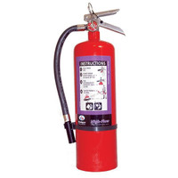 Badger™ Extra-High Flow 10 lb Purple K Extinguisher w/ Wall Hook - 1006159