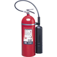 Badger™ Extra 20 lb CO2 Fire Extinguisher w/ Wall Hook - 1096