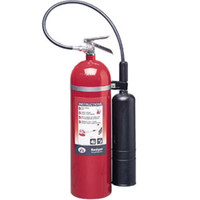 Badger™ Extra 15 lb CO2 Fire Extinguisher w/ Wall Hook - 1103