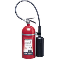 Badger™ Extra 10 lb CO2 Fire Extinguisher w/ Wall Hook - 1106