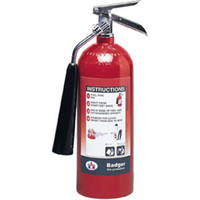Badger™ Extra 5 lb CO2 Fire Extinguisher w/ Wall Hook - 1111