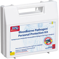 26-Piece Personal Bloodborne Pathogen Kit w/ CPR Microshield - 217O