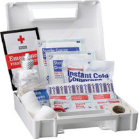 25-Person, 110-Piece Bulk First Aid Kit, Plastic - 223AN