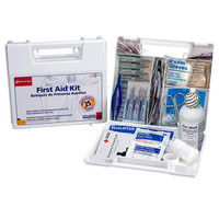 25-Person, 107-Piece Bulk First Aid Kit w/ Dividers (Plastic) - 223UFAO