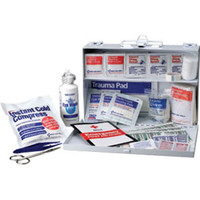 25-Person, 106-Piece Bulk First Aid Kit (Metal) - 224UFAO