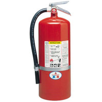 Badger™ Standard 20 lb ABC Fire Extinguisher w/ Wall Hook - 2682