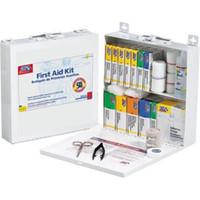 50-Person, 197-Piece Bulk First Aid Kit (Metal) - 226UFAO