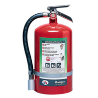 Badger™ Extra 11 lb Halotron® I Fire Extinguisher w/ Wall Hook - 3082