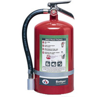 Badger™ Extra 15.5 lb Halotron® I Extinguisher w/ Wall Hook - 3097