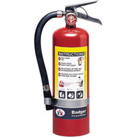 Badger™ Extra 5 lb ABC Fire Extinguisher w/ Wall Hook - 3390