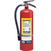 Badger™ Extra 10 lb ABC Fire Extinguisher w/ Wall Hook - 3396