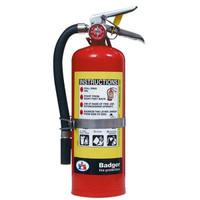 Badger™ Extra 5 lb ABC Fire Extinguisher w/ Vehicle Bracket - 3463