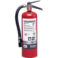 Badger™ Extra 5 lb BC Fire Extinguisher w/ Wall Hook - 3476