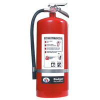 Badger™ Extra 20 lb BC Fire Extinguisher w/ Wall Hook - 3482