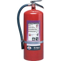 Badger™ Extra 20 lb Purple K Fire Extinguisher w/ Wall Hook - 3495