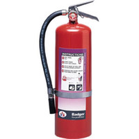 Badger™ Extra 10 lb Purple K Fire Extinguisher w/ Wall Hook - 3778