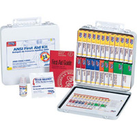 24-Unit, 165-Piece Unitized First Aid Kit w/ Gasket, Metal - 242AN