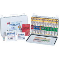 36-Unit, 215-Piece Unitized First Aid Kit w/ Gasket, Metal - 243AN