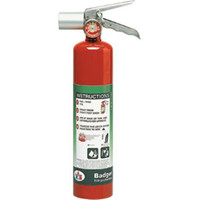 Badger™ Extra 2.5 lb Halotron® I Extinguisher w/ Vehicle Bracket - 4563