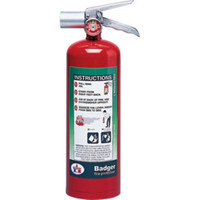 Badger™ Extra 5 lb Halotron® I Fire Extinguisher w/ Wall Hook - 4567