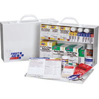 First Aid Station, 2-Shelf, 75-Person, 516-Piece - 245OFAO