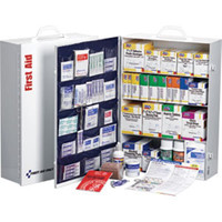 4-Shelf, 150-Person, 1060-Piece First Aid Station w/ 20-Pocket Liner - 248OP