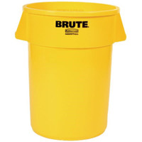Brute® Utility Waste Container, 44 gal (Yellow) - 2643