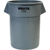 Brute® Utility Waste Container, 55 gal (Gray) - 2655