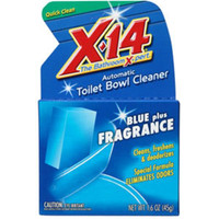 X-14® Automatic Toilet Bowl Cleaner, Blue Plus Fragrance - 268011
