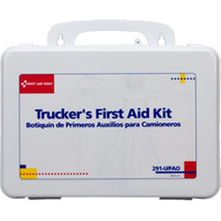 16-Unit, 88-Piece Trucker's First Aid Kit (Plastic) - 291UFAO
