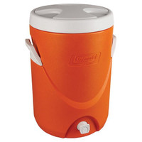 Coleman® Beverage Cooler, 5 gal, Orange - 3000000733