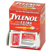 Extra-Strength Tylenol® (100/Box) - 40900