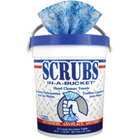 Scrubs® Hand Cleaner Towels, 6 Containers/72 ea - 42272